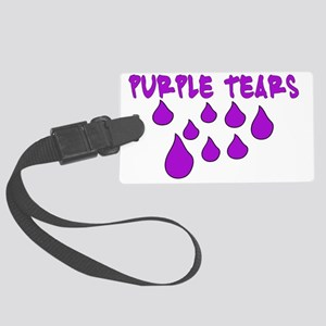 PURPLETEARS Large Luggage Tag